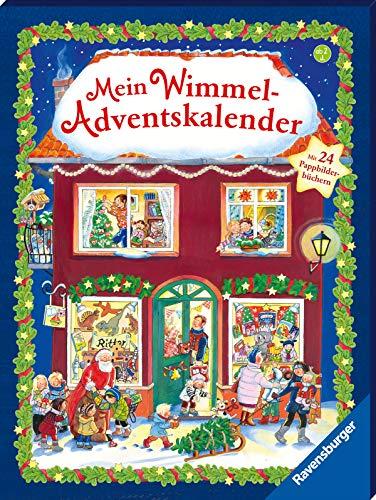 Mein Wimmel-Adventskalender: Mit 24 Pappbilde...