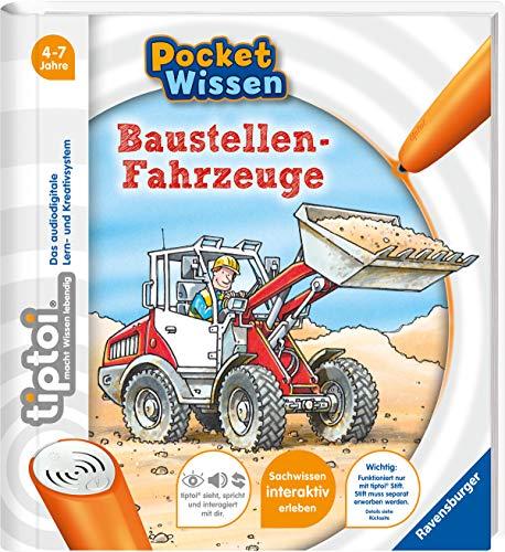 tiptoi® Baustellen-Fahrzeuge (tiptoi® Pocke...