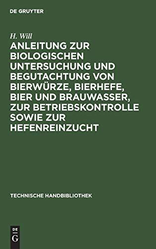 Anleitung zur biologischen Untersuchung und B...