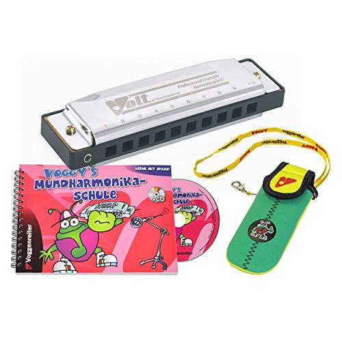 Voggy´s Mundharmonika Set Volt-Mundharmonika...
