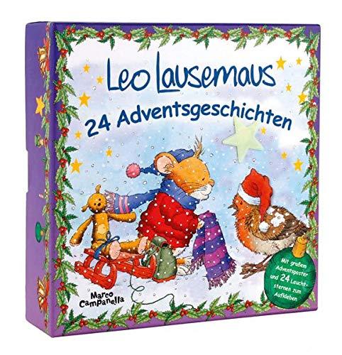 Adventsbox - Leo Lausemaus: 24 Adventsgeschic...