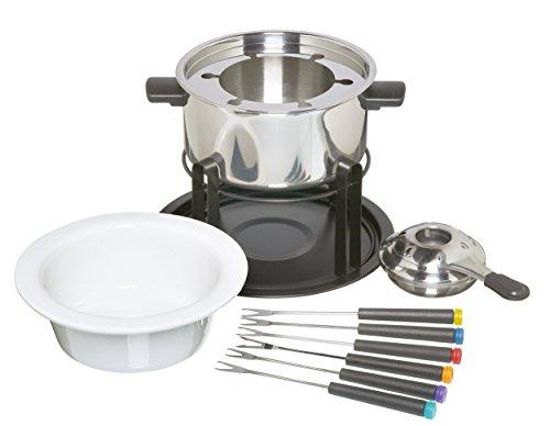 Kitchen Craft Fondue-Set mit Schüsseln aus K...