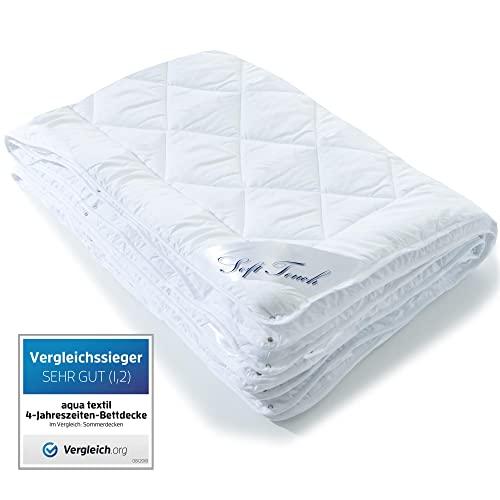 aqua-textil Soft Touch 4 Jahreszeiten Bettdec...