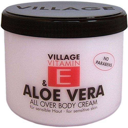 Village 9506-01 Aloe Vera Body Cream 500ml mi...