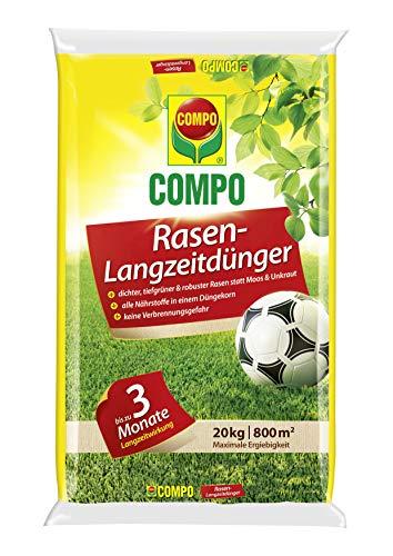 COMPO Rasen-Langzeitdünger, 3 Monate Langzei...