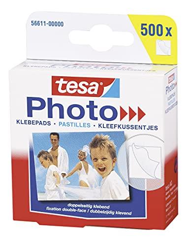 tesa Photo Klebepads, beidseitig klebend zur ...