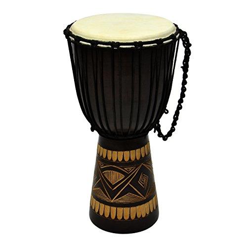 Djembe Trommel Buschtrommel Afrika-Style gesc...