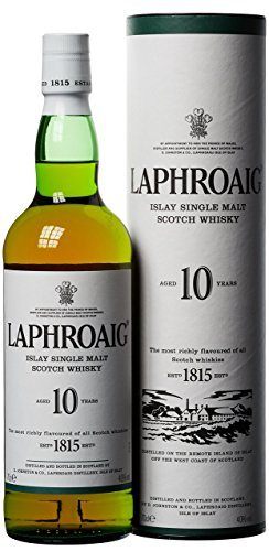Laphroaig 10 Jahre Islay Single Malt Scotch W...