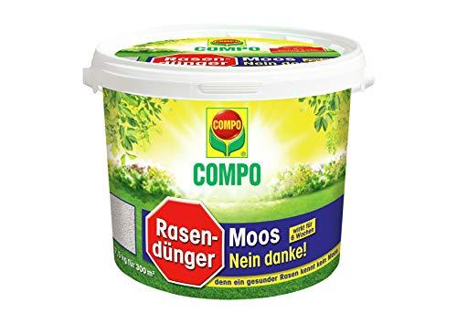 Compo Rasendünger Moos -nein Danke! mit 6 Wo...