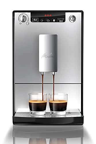 Melitta Caffeo Solo E950-103 Schlanker Kaffee...