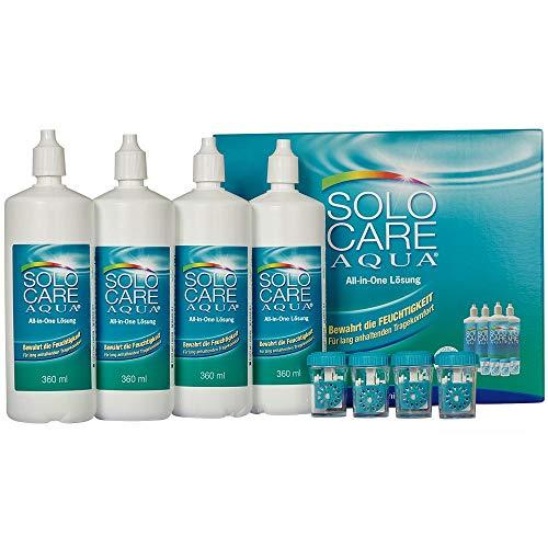 Solocare Aqua Pflegemittel Systempack (4 x 36...