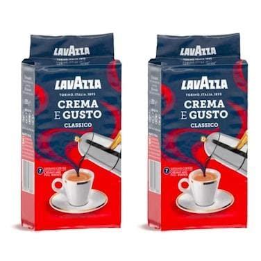 Lavazza Gemahlener Kaffee - Crema E Gusto - 1...