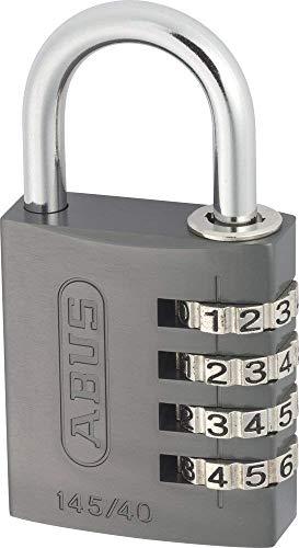 ABUS 48806 Aluminium-Zahlenschloss 145/40 tit...