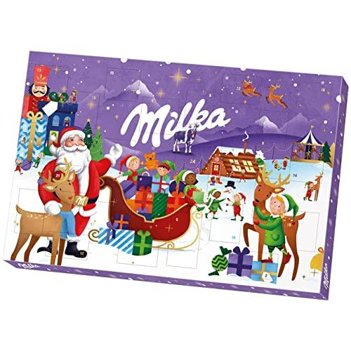 Milka Adventskalender 1 x 200g, Mit Schokolad...