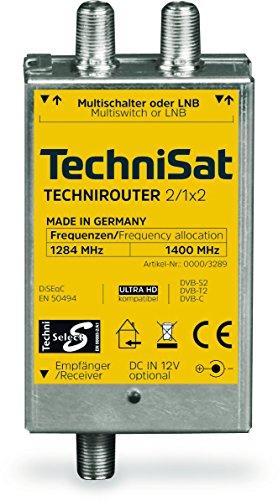 TechniSat TECHNIROUTER MINI 2/1x2 - Einkabell...