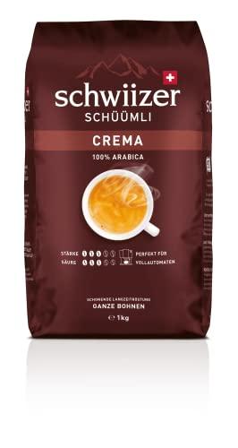 Schwiizer Schüümli Crema Ganze Kaffeebohnen...