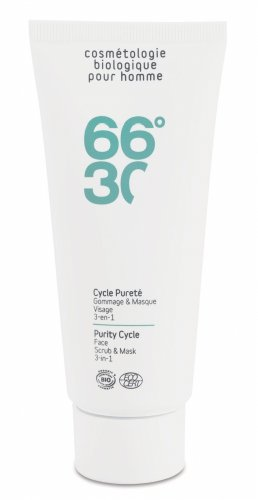 66°30 Purity Cycle Face Scrub & Mask 3-in-1,...