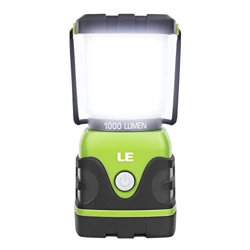 LE LED Campinglampe, Ultra Hell 1000 Lumen, 3...