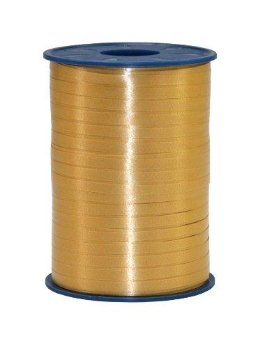 C.E. PATTBERG Geschenkband gold, 500 Meter Ri...