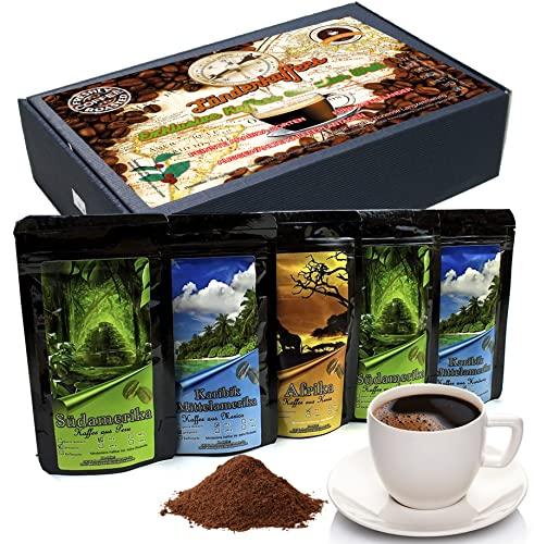 Geschenk Set - Länder Kaffee aus aller Welt ...