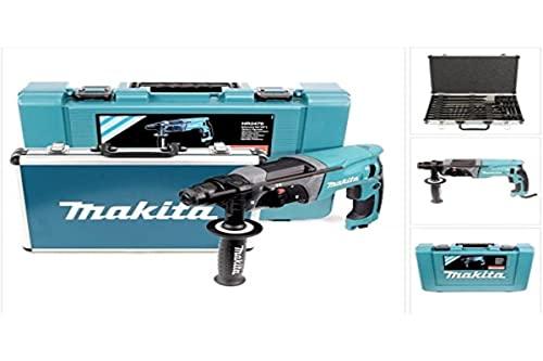 Makita HR2470 Bohrmaschine mit Bohrer und Mei...