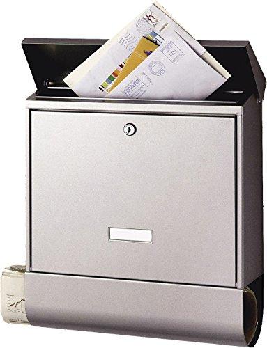 BURG-WÄCHTER Briefkasten mit Zeitungsbox und...