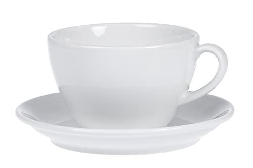 Esmeyer Kaffee-Tassen Bistro 0,20l mit Untert...