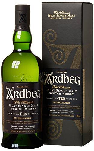 Whisky Ardbeg Islay Single Malt 10 Jahre in G...
