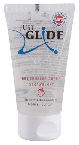 Just Glide Gleitgel Erdbeere 50 ml - Natürli...
