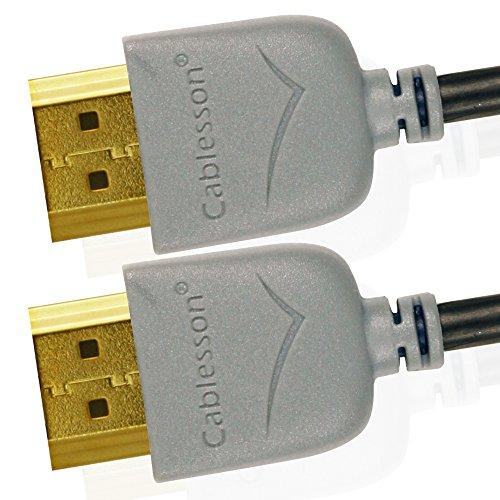 Cables HDMI Ivuna Slim Flex 2m de alta Veloci...