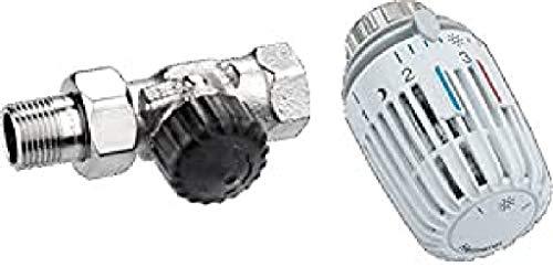 Heimeier HEIMSETD12 Thermosat Set, Ventil 220...
