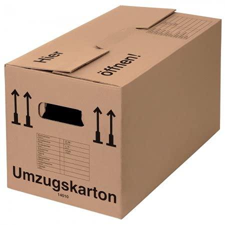 BB-Verpackungen Umzugskarton, 10 Stück, (Pro...