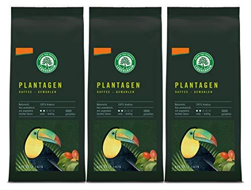 Lebensbaum Plantagen Kaffee, gemahlen, demete...