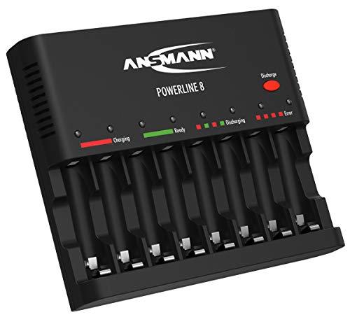 ANSMANN Akku-Ladegerät zum Laden & Entladen ...