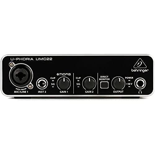 Behringer ZB791 UMC22 Audiophile 2x2 USB Audi...