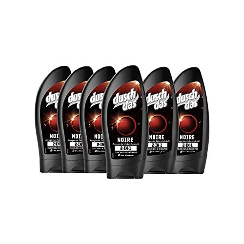 Duschdas For Men Duschgel Noire, 6er Pack ( 6...