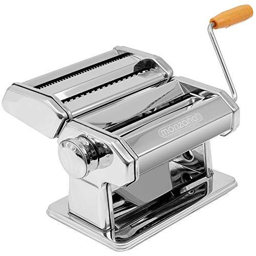 monzana® Nudelmaschine Pastamaschine Pastama...