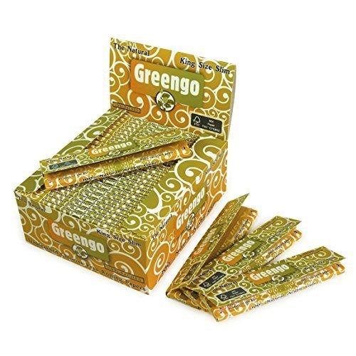 greengo Zigarettenpapier, dünn, Kingsize, 50...
