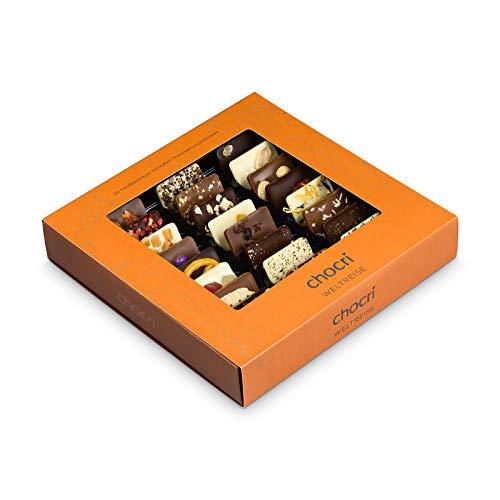 """chocri \""""Weltreise\"""" - 24 Schokoladen-Täfelc..."""