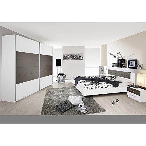 Rauch Möbel Barcelona Schlafzimmer, Weiß / ...
