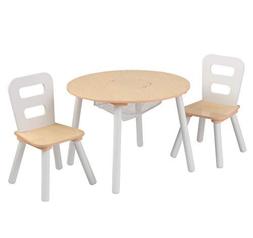 KidKraft 27027 Runder Tisch mit Aufbewahrungs...