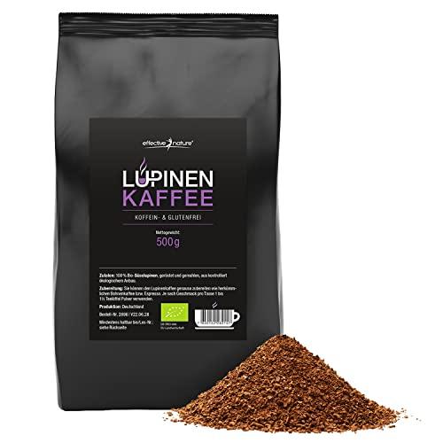 effective nature Lupinenkaffee - 500 g Pulver...