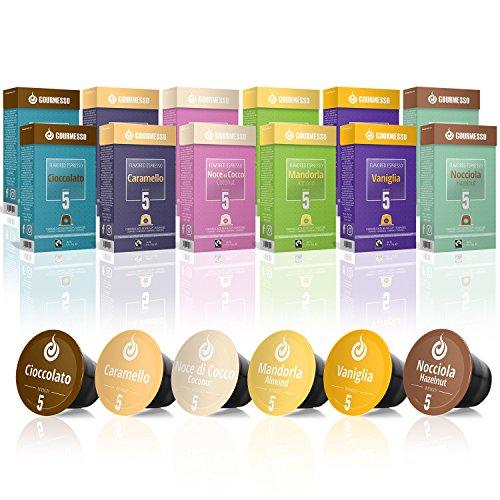Gourmesso Flavour Box – 120 Nespresso kompa...