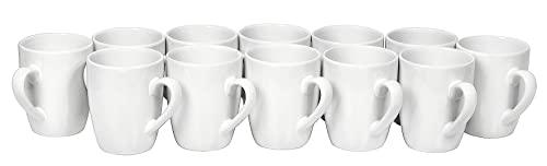 12 Kaffee-Becher Pot Tasse ø 8,5cm H 9,5cm K...
