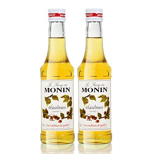 2x Monin Haselnuss / Noisette Sirup, 250 ml F...
