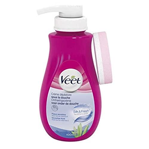 Veet Enthaarungscreme unter der Dusche, empfi...