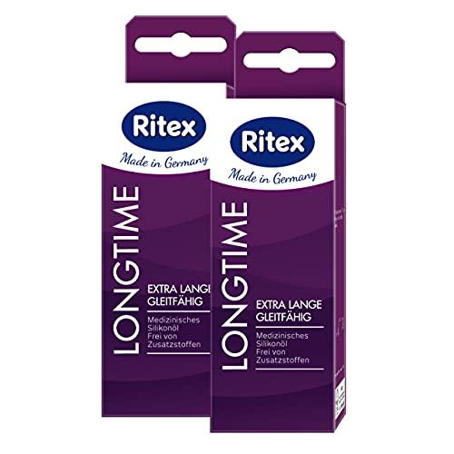 Ritex LONGTIME, Gleitgel auf Silikonbasis, Ex...
