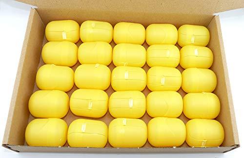 25 Ü-Ei Kapseln am Steg in gelb von Ferrero ...