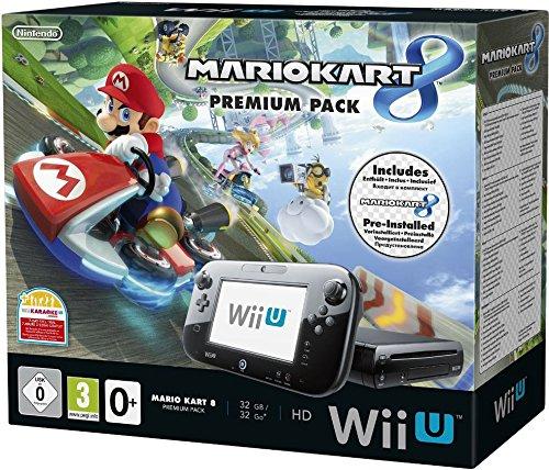 Nintendo Wii U Premium Pack schwarz, 32GB ink...
