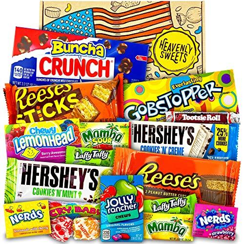 Amerikanische Süßigkeiten Geschenkkorb von ...
